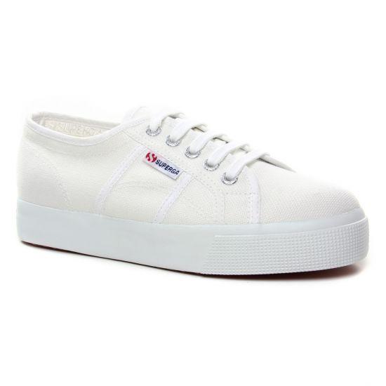 Tennis Et Baskets Mode Superga 2730 White, vue principale de la chaussure femme