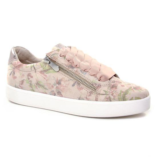 Tennis Et Baskets Mode Marco Tozzi 23774 Dune Flower, vue principale de la chaussure femme