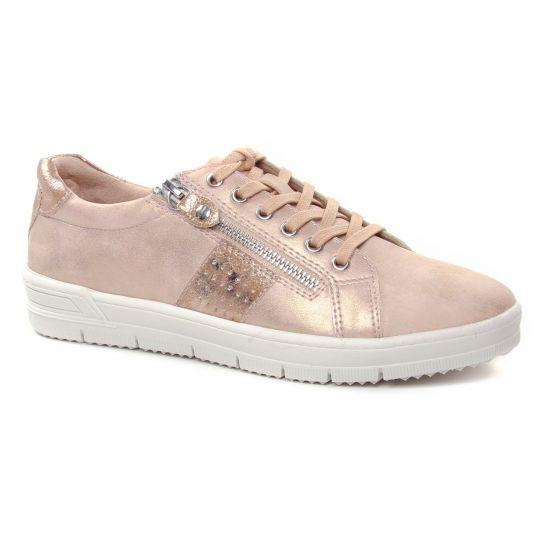 Tennis Et Baskets Mode Tamaris 23605 Rose, vue principale de la chaussure femme