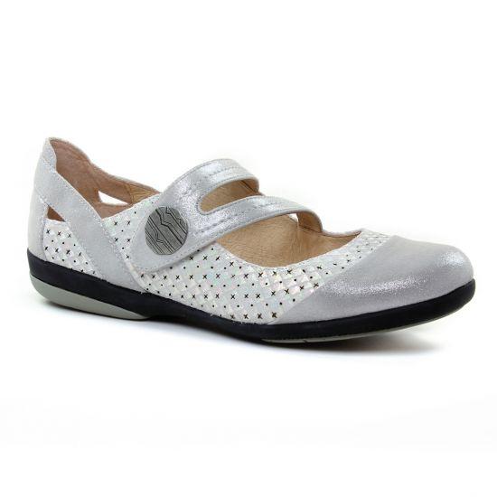 Babies Fugitive Jaen Metal Grey, vue principale de la chaussure femme
