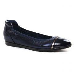 Chaussures femme été 2020 - ballerines confort tamaris bleu