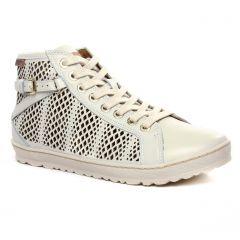 baskets-mode blanc cassé: même style de chaussures en ligne pour femmes que les Tamaris