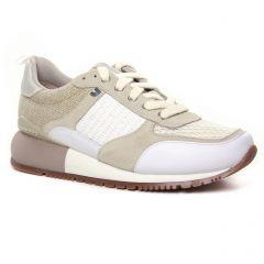 baskets-mode beige blanc: même style de chaussures en ligne pour femmes que les Gioseppo