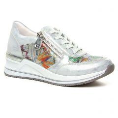 baskets-mode gris argent: même style de chaussures en ligne pour femmes que les Tamaris