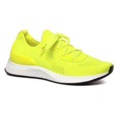 baskets-mode jaune fluo: même style de chaussures en ligne pour femmes que les Fugitive