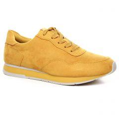 Chaussures femme été 2020 - baskets mode tamaris jaune