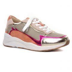 baskets-mode multi or: même style de chaussures en ligne pour femmes que les Tamaris