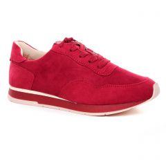 Chaussures femme été 2020 - baskets mode tamaris rouge