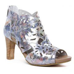 Laura Vita Alcbaneo Bleu : chaussures dans la même tendance femme (boots-ete bleu multi) et disponibles à la vente en ligne