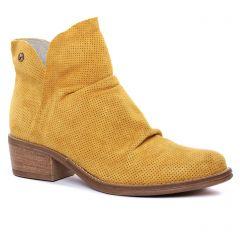 boots jaune: même style de chaussures en ligne pour femmes que les Tamaris