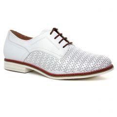Tamaris 23200 White Cognac : chaussures dans la même tendance femme (derbys blanc) et disponibles à la vente en ligne