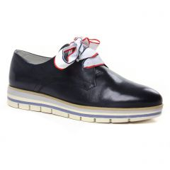 Chaussures femme été 2020 - derbys marco tozzi bleu marine