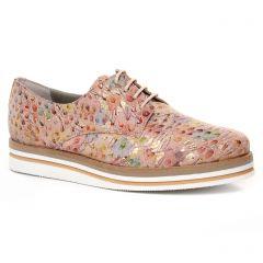 Dorking D7850 Saumon : chaussures dans la même tendance femme (derbys rose multi) et disponibles à la vente en ligne