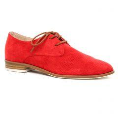 Chaussures femme été 2020 - derbys fugitive rouge