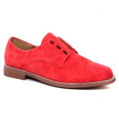 Chaussures femme été 2020 - derbys Émilie Karston rouge orangé