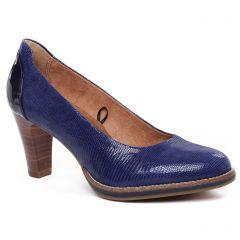 escarpins-confort bleu: même style de chaussures en ligne pour femmes que les Tamaris