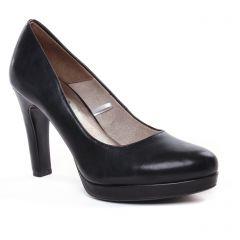 escarpins noir mat: même style de chaussures en ligne pour femmes que les Tamaris