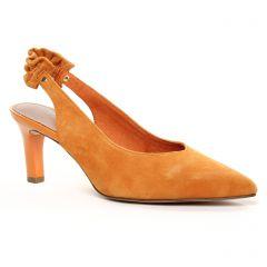 escarpins orange: même style de chaussures en ligne pour femmes que les Tamaris