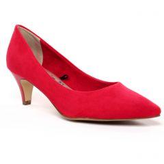 Chaussures femme été 2020 - escarpins tamaris rouge