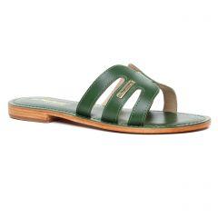 mules vert: même style de chaussures en ligne pour femmes que les Les Tropéziennes