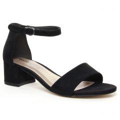 nu-pieds-talon black: même style de chaussures en ligne pour femmes que les Tamaris