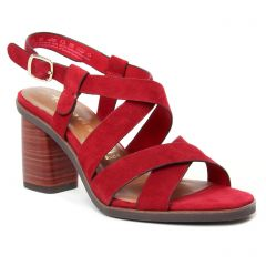 nu-pieds-talons-hauts bordeaux: même style de chaussures en ligne pour femmes que les Tamaris