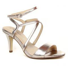 sandales beige doré: même style de chaussures en ligne pour femmes que les Rieker