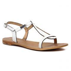 Chaussures femme été 2020 - sandales les tropéziennes blanc