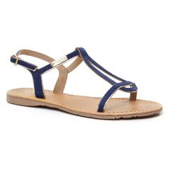 sandales bleu marine: même style de chaussures en ligne pour femmes que les Les Tropéziennes
