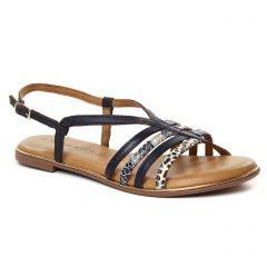 sandales bleu or: même style de chaussures en ligne pour femmes que les Les Tropéziennes