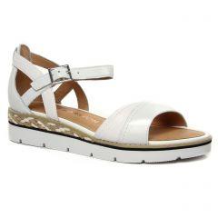 sandales-compensees blanc: même style de chaussures en ligne pour femmes que les Émilie Karston