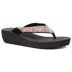 Chaussures femme été 2020 - sandales compensées Gioseppo noir