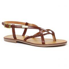 Chaussures femme été 2020 - sandales les tropéziennes marron