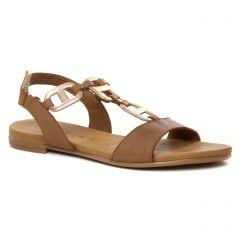 sandales marron or: même style de chaussures en ligne pour femmes que les Les Tropéziennes