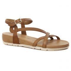 Chaussures femme été 2020 - sandales tamaris marron