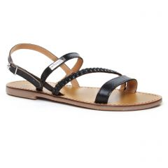 Chaussures femme été 2020 - sandales les tropéziennes noir