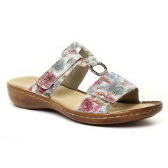 sandales rose multi: même style de chaussures en ligne pour femmes que les Les Tropéziennes
