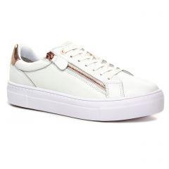 tennis blanc bronze: même style de chaussures en ligne pour femmes que les Victoria