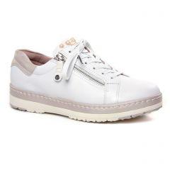 tennis blanc cassé: même style de chaussures en ligne pour femmes que les Remonte
