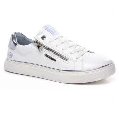 tennis blanc: même style de chaussures en ligne pour femmes que les Tamaris