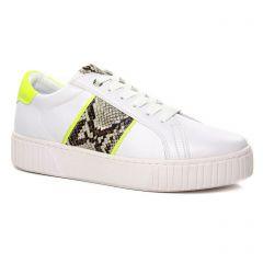 Marco Tozzi 23713 White Neon Yel : chaussures dans la même tendance femme (tennis blanc jaune) et disponibles à la vente en ligne