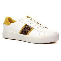 tennis blanc leopard: même style de chaussures en ligne pour femmes que les Fugitive