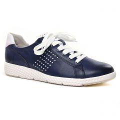 tennis bleu blanc: même style de chaussures en ligne pour femmes que les Marco Tozzi