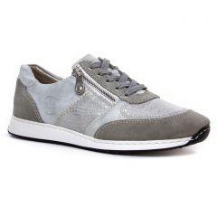 tennis gris argent: même style de chaussures en ligne pour femmes que les Tamaris