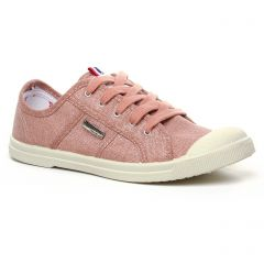 Chaussures femme été 2020 - tennis les tropéziennes rose