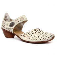 trotteurs-babies blanc cassé: même style de chaussures en ligne pour femmes que les Rieker