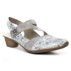 trotteurs-babies gris argent: même style de chaussures en ligne pour femmes que les Remonte
