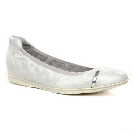 Ballerines Tamaris 22109 Silver Comb, vue principale de la chaussure femme