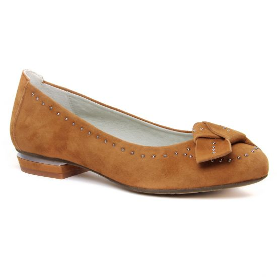 Ballerines Dorking Nicol 8118 Nut, vue principale de la chaussure femme