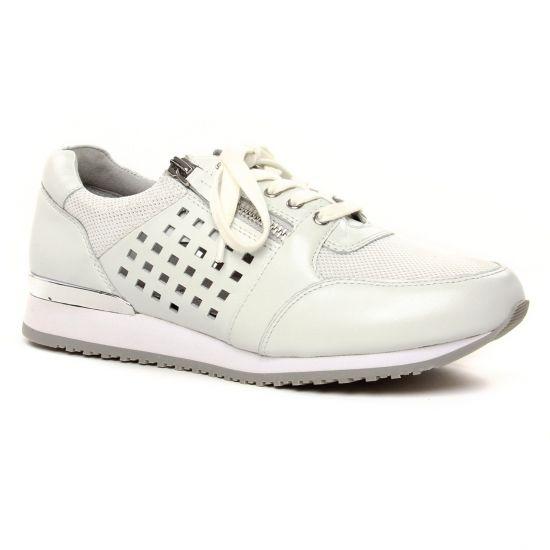 Tennis Et Baskets Mode Caprice 23503 White Comb, vue principale de la chaussure femme